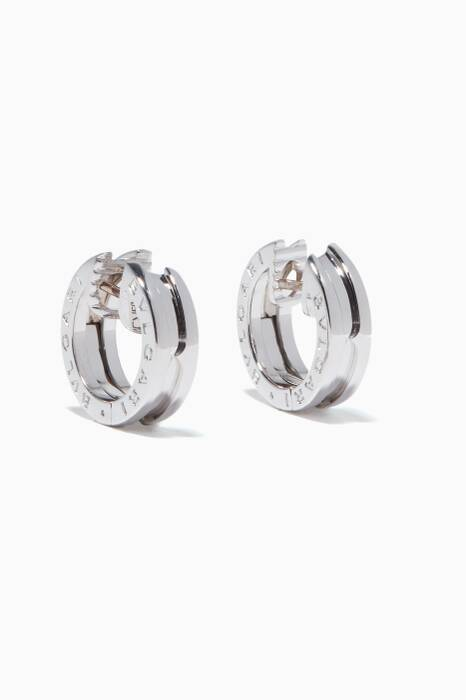White-Gold B.zero1 Earrings