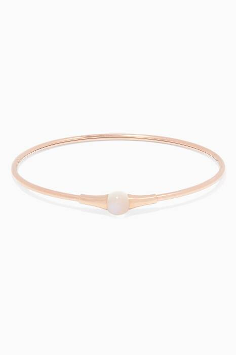 Rose-Gold Adularia Bracelet