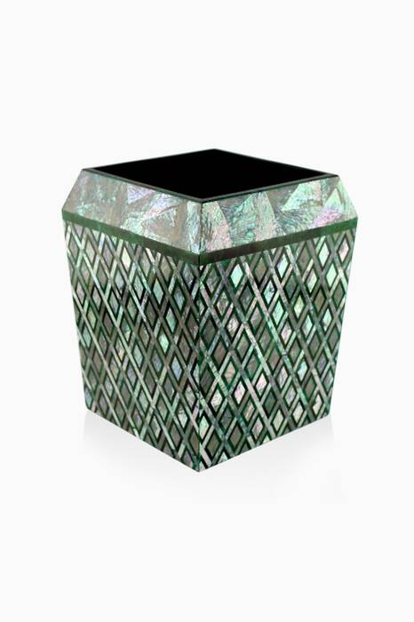 Grey One Thousand & One Nights Morgiana Waste Basket