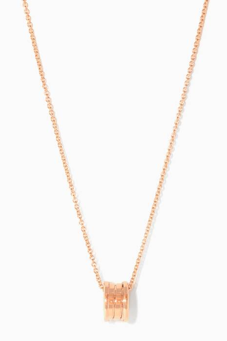 Rose-Gold B.zero1 Pendant With Chain