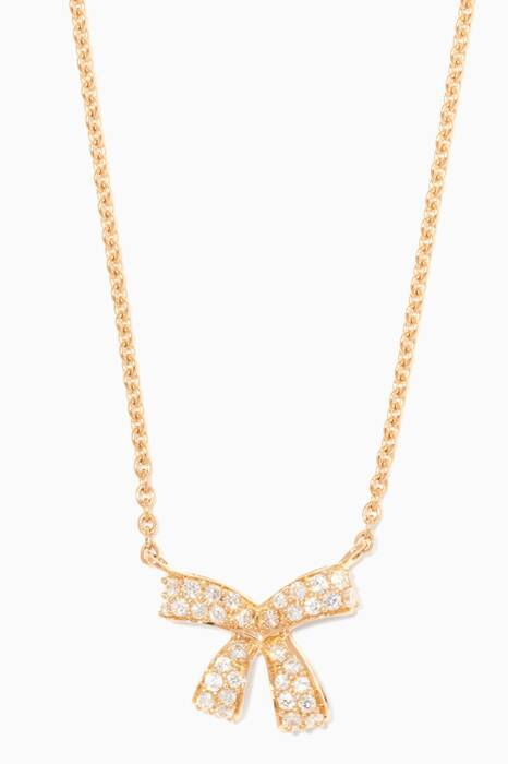 Yellow-Gold Diamond Romance Necklace