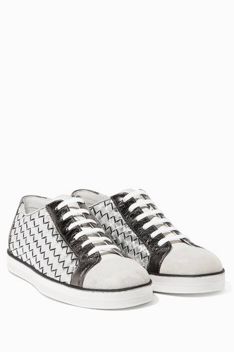 Mist Silver Sail Sneakers