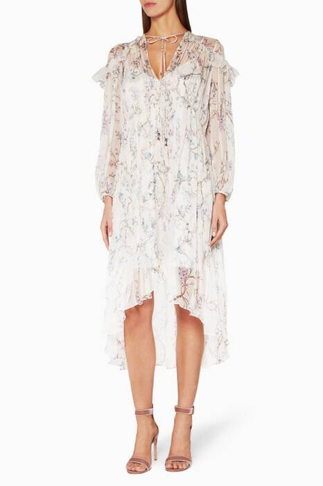 Cream Paradiso Floating Dress