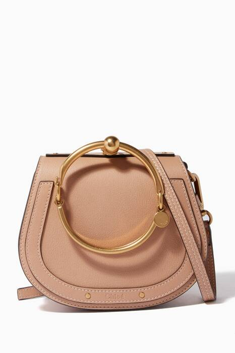 Biscotti Beige Small Nile Bracelet Bag