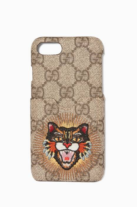 Brown Angry Cat iPhone® 7 Phone Case