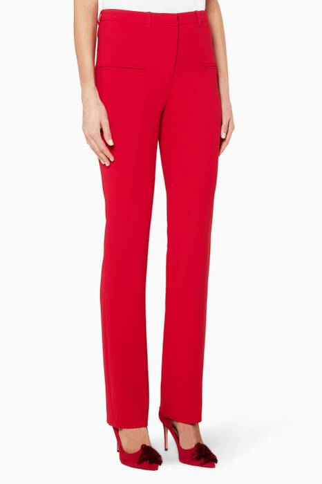 Red Jane Pants