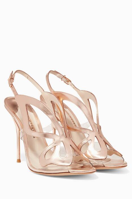 Rose-Gold Madame Butterfly Sandals