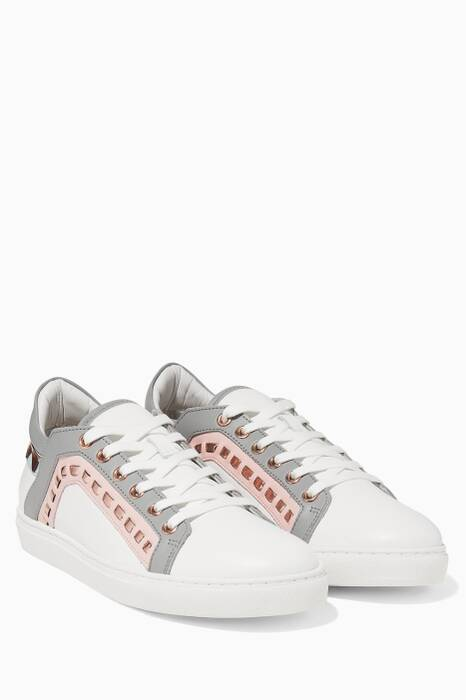 White Riko Sneakers