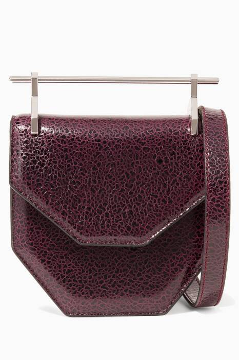 Aubergine Sparkle Mini Amor Fati Bag
