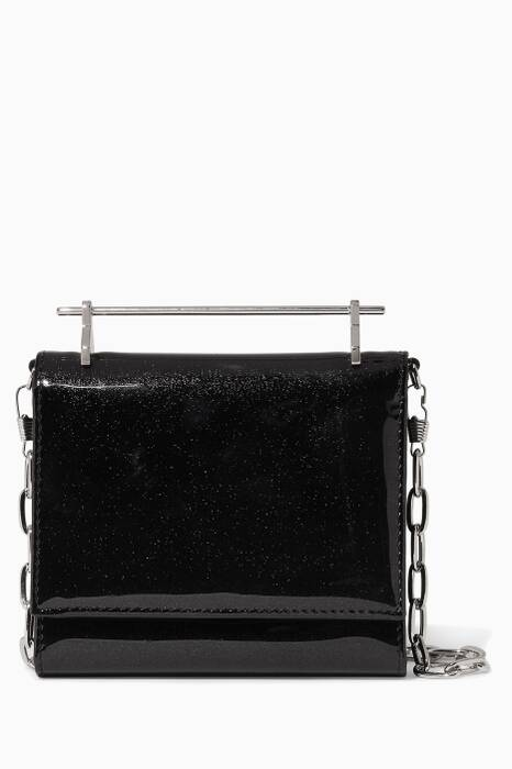 Black Patent Cambiria Wallet On Chain