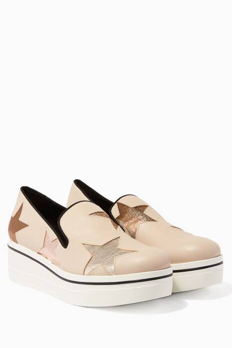 Nude Binx Star Loafers
