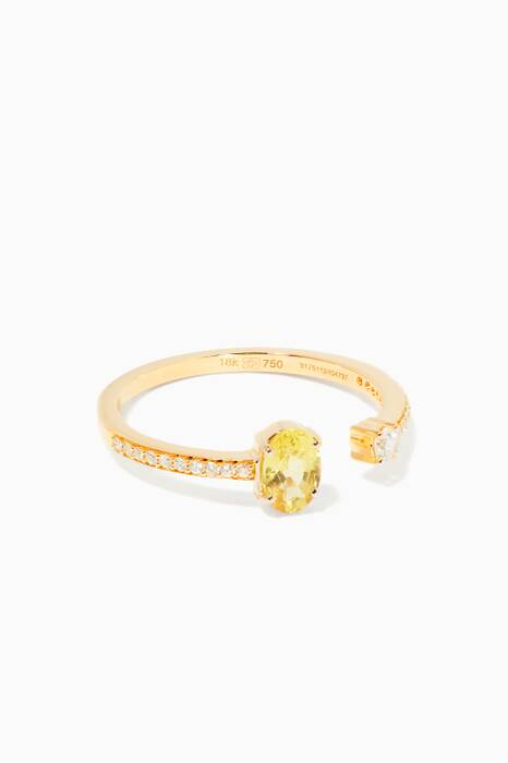 Yellow-Gold Spectrum Ring