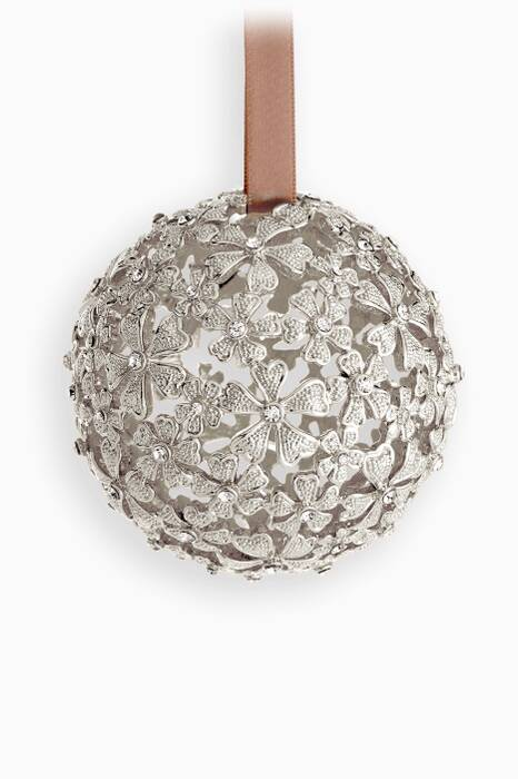 Silver Garland Ornament