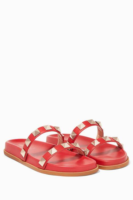 Red Rockstud Slides