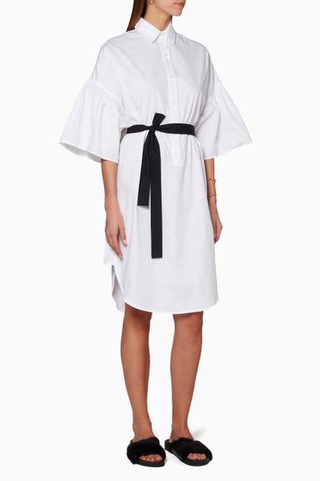 White Polo Shirtdress
