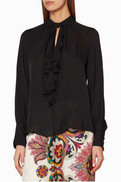 Black Villandry Shirt