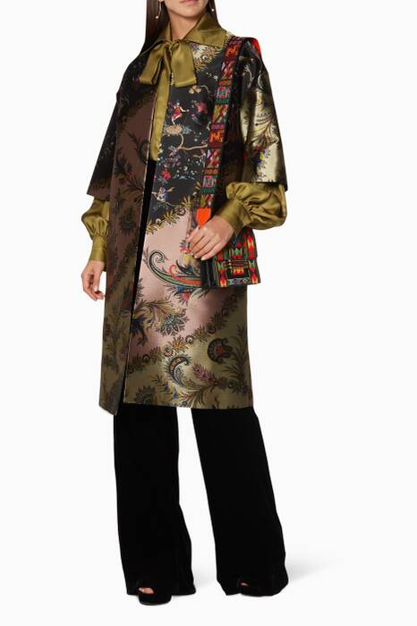 Multi-Coloured Oriental Coat