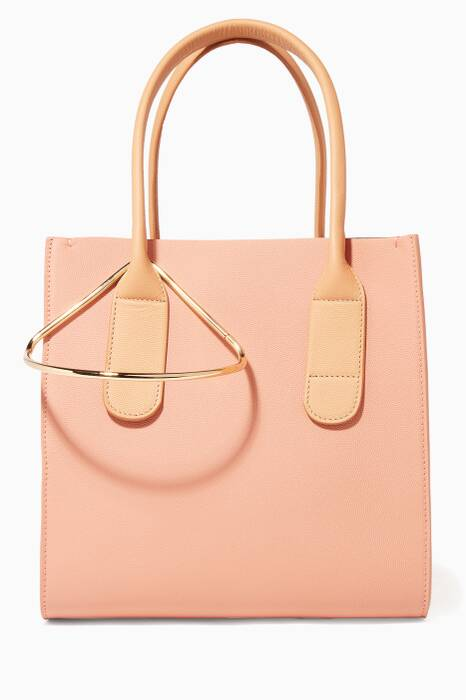 Nude-Pink Mini Weekend Tote Bag