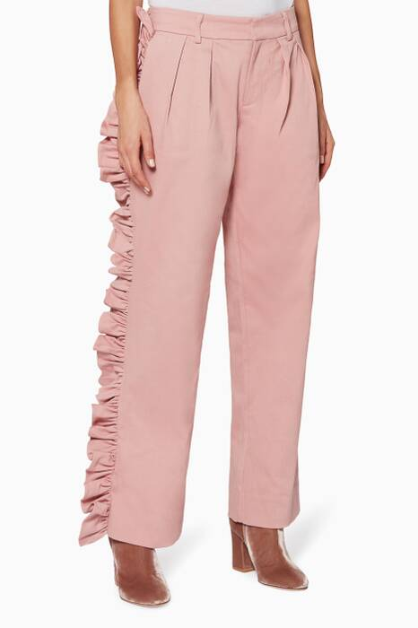 Antique-Rose I'll Stand Beside You Pants