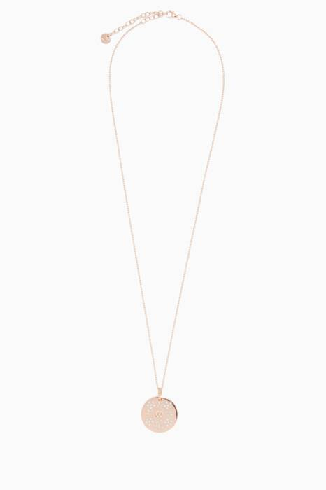 Rose-Gold Icon Blossom Charm Necklace