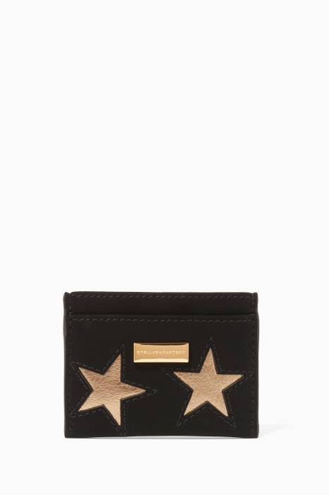 Black Stars Card Case
