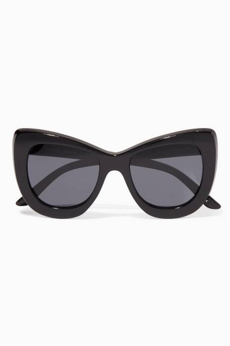 Black Queenie Oversized Sunglasses