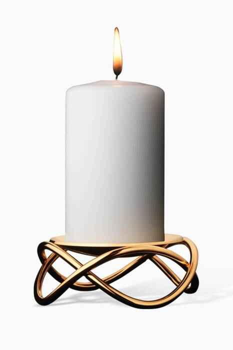Gold-Plated Glow Candleholder