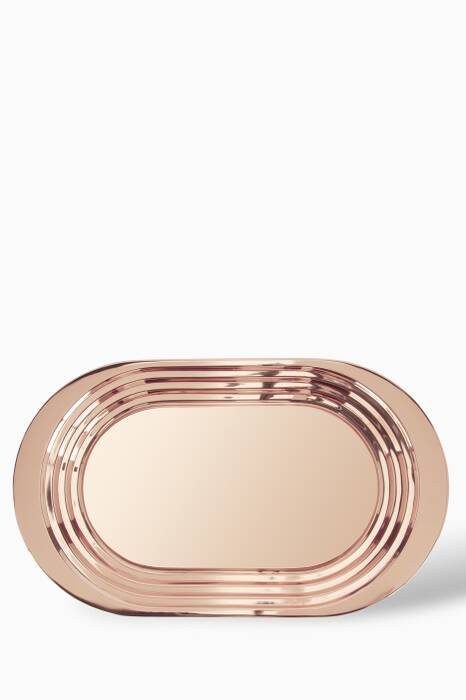 Plum Copper-Plated Tray
