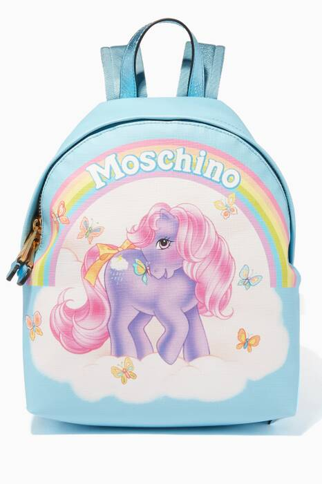 Blue My Little Pony Backpack