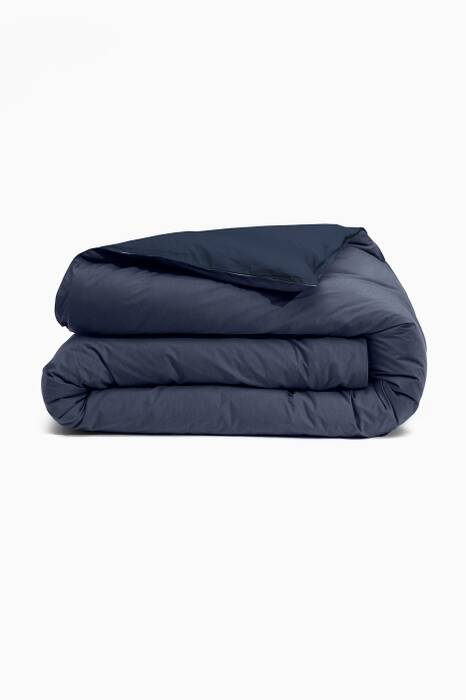 Navy Queen-Size Duvet Cover