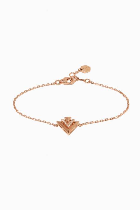 Rose-Gold Diamond Avant Bracelet Avant