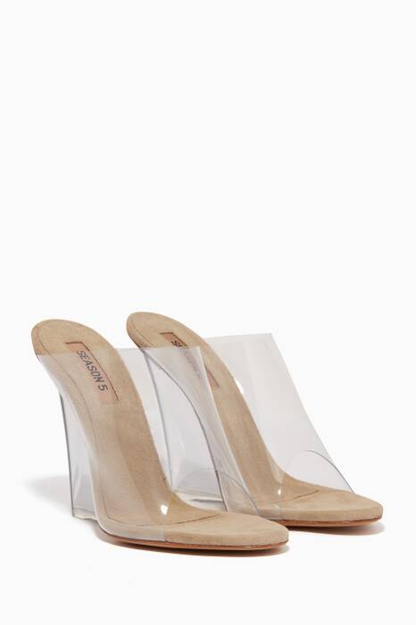 Transparent PVC Wedges