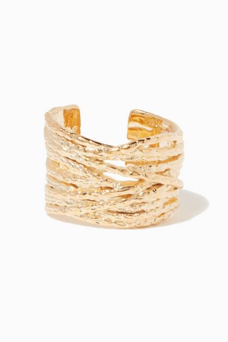 Gold Liane Ring