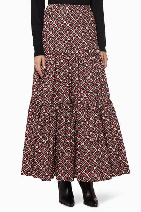 Domino Rosa Big Skirt