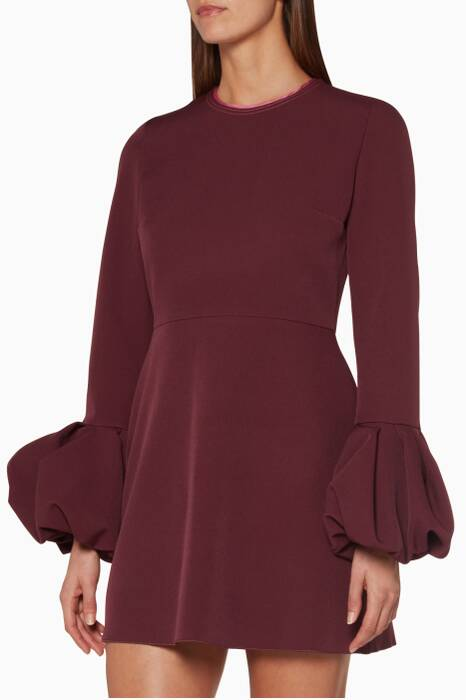 Plum-Musk Gaia Mini Dress