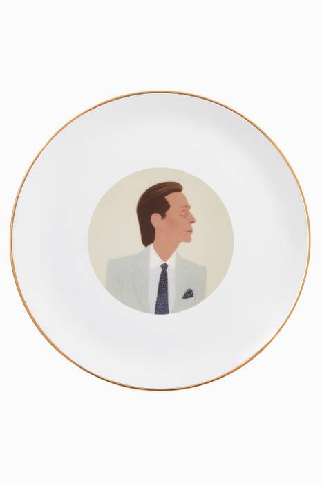 Large Valentino Plate