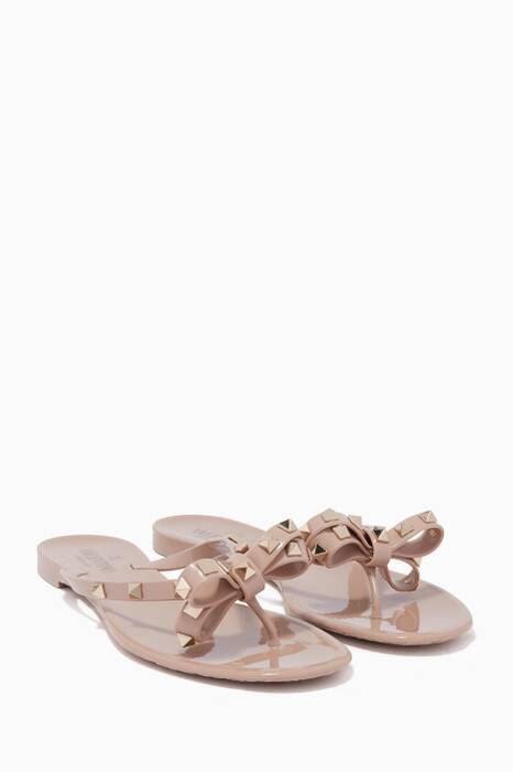 Poudre Patent Rockstud Slippers