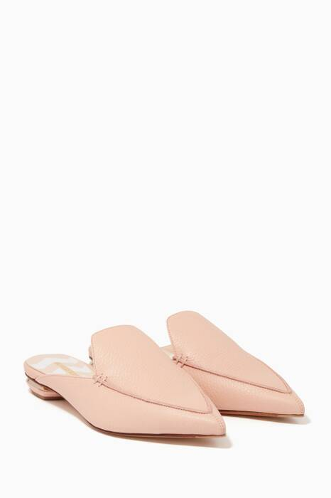 Light-Pink Beya Loafers