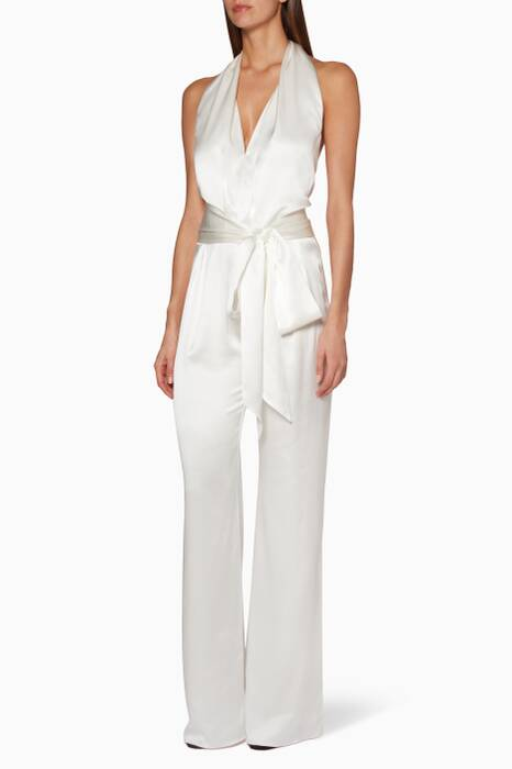 Ivory Heyday Jumpsuit