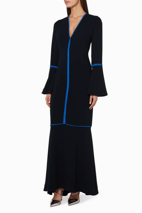 Dark-Blue Chan Chan Dress