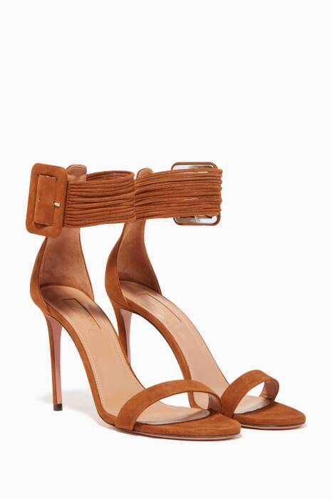 Brown Casablanca Suede Sandals