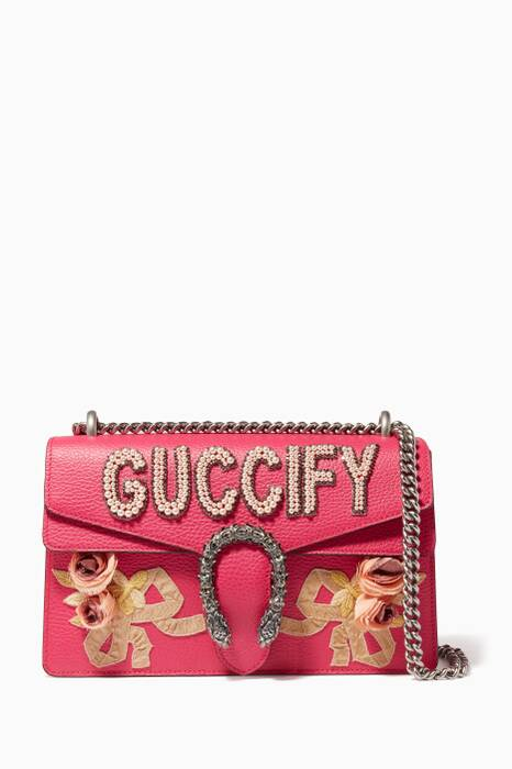 Pink Dionysus Small Shoulder Bag