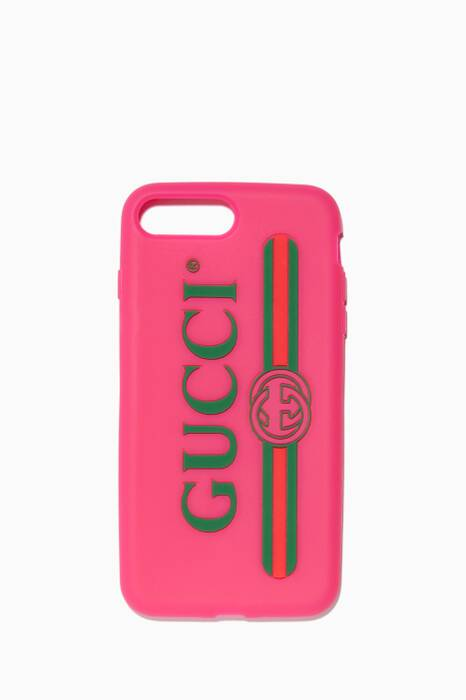 Pink Gucci Logo iPhone® 7 Plus Case