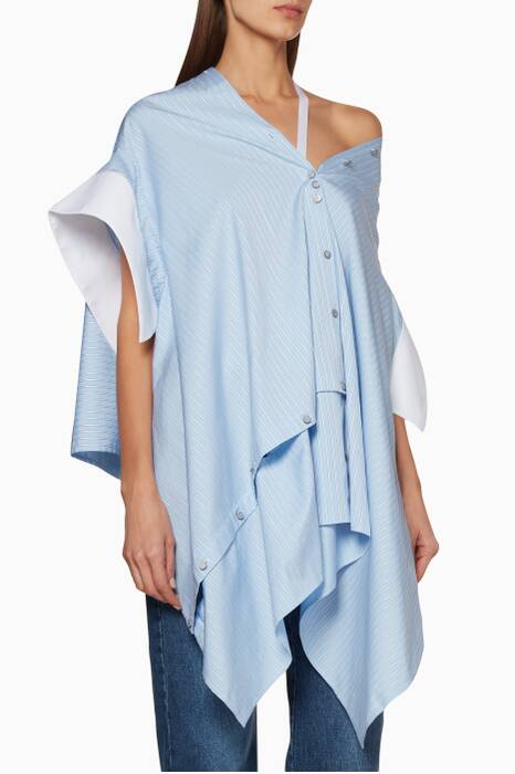 Light-Blue Short-Sleeve Jasmine Shirt