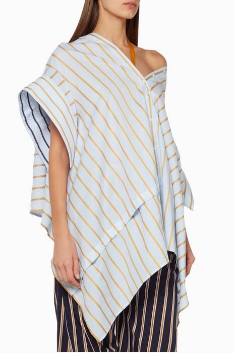 Multi-Coloured Striped Reversible Jasmine Shirt