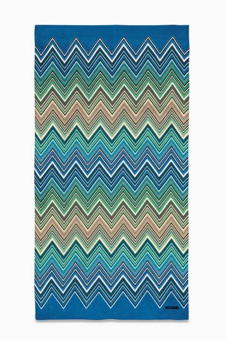 Multi-Coloured Telemaco 170 Beach Towel