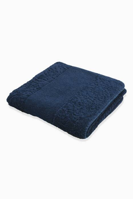 Dark-Blue Cadette Super Pile Hand Towel