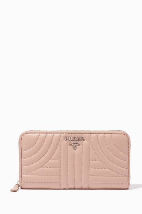 Powder-Pink Leather Wallet