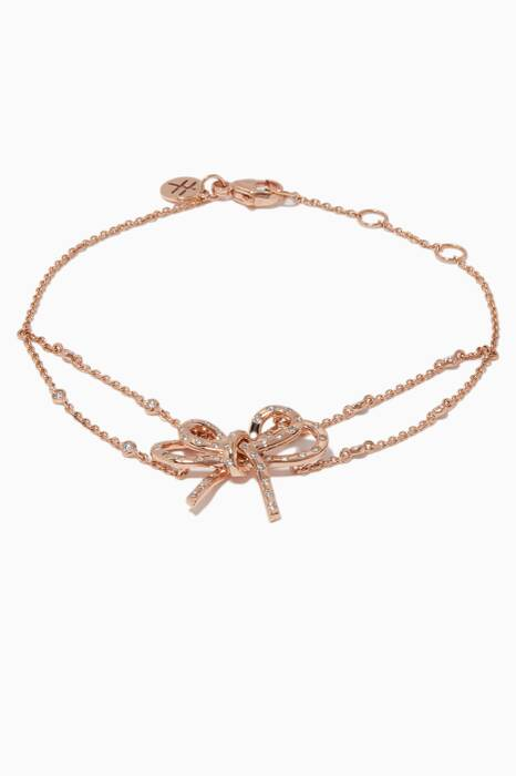 Rose-Gold & Diamond Romance Bracelet
