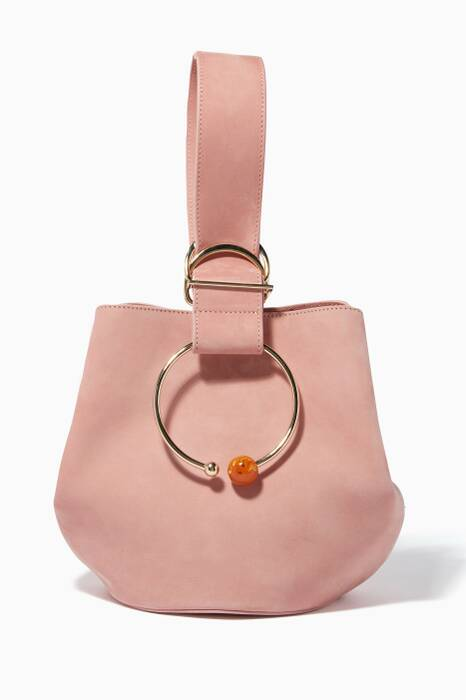 Pink Medium Gem Sphere Bag